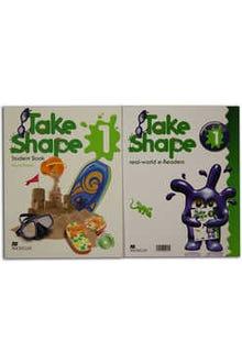 Take Shape 1 Student Book + Real World eReaders + CD