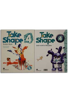 Take Shape 4 Student Book + Real World eReaders + CD