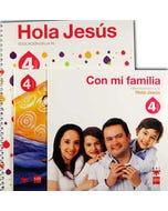 Hola Jesús 4 años + El libro de Jesús + Con mi familia