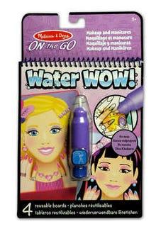 Bloc Revelador para Colorear con agua: Maquillaje y Manicuras