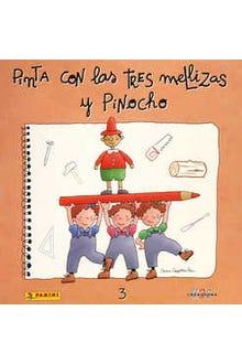 PINTA CON LAS TRES MELLIZAS Y PINOCHO