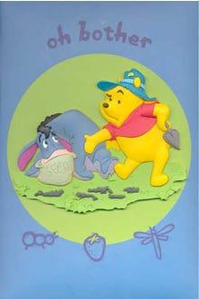 Álbum para 24 fotos Pooh y Eeyore Oh Bother