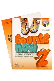 Bounce Now 2 Student's Book + Activity Resource Book