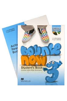 Bounce Now 3 Student's Book + Activity Resource Book
