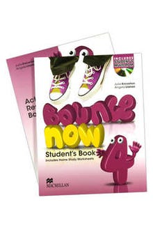 Bounce Now 4 Student's Book + Activity Resource Book