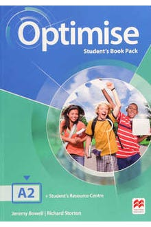 Optimise Student's Book Pack A2 + Student's Resource Centre