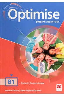 Optimise Student's Book Pack B1 + Student's Resource Centre