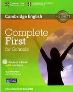 Complete First for Schools Stundet's Book with answers