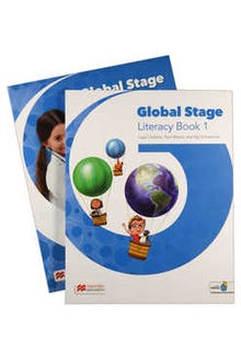 Global Stage 1 Literacy Book + Language Book with Navio App