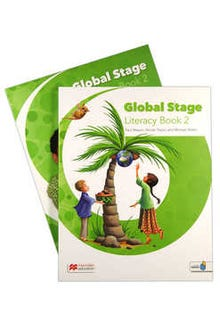 Global Stage 2 Literacy Book + Language Book with Navio App
