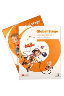 Global Stage 4 Literacy Book + Language Book with Navio App