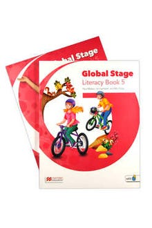 Global Stage 5 Literacy Book + Language Book with Navio App