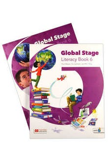 Global Stage 6 Literacy Book + Language Book with Navio App