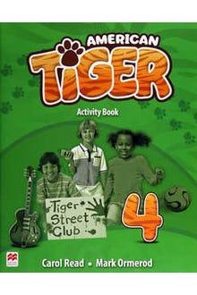 American Tiger 4 Activity Book