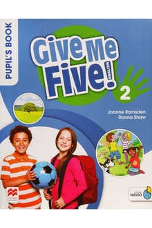 Give Me Five 2 Pupil's Book with Navio App