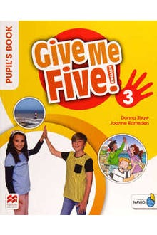 Give Me Five 3 Pupil's Book with Navio App