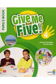 Give Me Five 4 Pupil's Book with Navio App