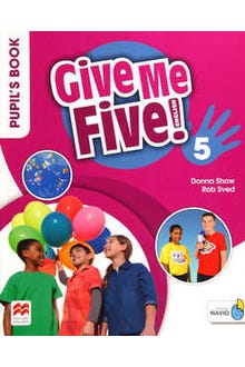 Give Me Five 5 Pupil's Book with Navio App