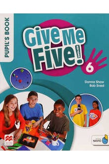 Give Me Five 6 Pupil's Book with Navio App