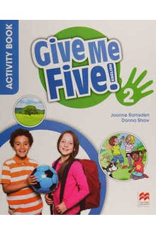 Give Me Five 2 Activity Book