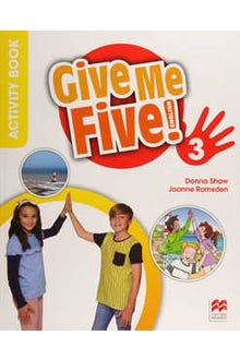 Give Me Five 3 Activity Book