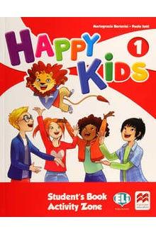 Happy Kids 1 Student's Book Activity Zone + CD