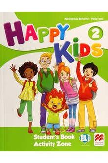 Happy Kids 2 Student's Book Activity Zone + CD