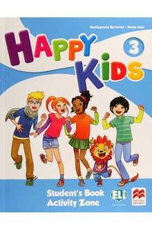 Happy Kids 3 Student's Book Activity Zone + CD