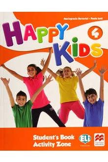 Happy Kids 4 Student's Book Activity Zone + CD