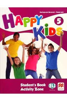 Happy Kids 5 Student's Book Activity Zone + CD
