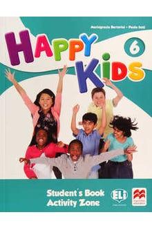 Happy Kids 6 Student's Book Activity Zone + CD