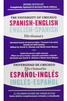 The University Of Chicago Spanish-English • English-Spanish Dictionary