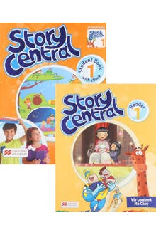 Story Central 1 Student Book + Reader + eBook