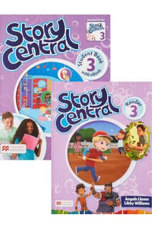 Story Central 3 Student Book + Reader + eBook