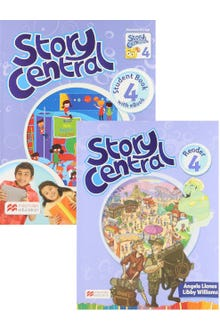 Story Central 4 Student Book + Reader + eBook