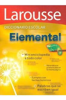 Larousse diccionario escolar elemental