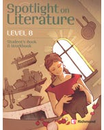 SPOTLIGHT ON LITERATURE LEVEL B STUDENTS BOOK AND WORKBOOK