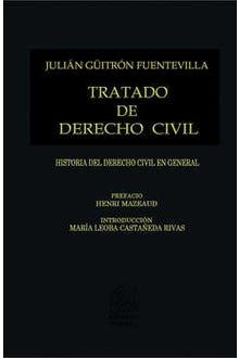 Tratado de Derecho Civil Tomo I