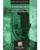 Criminología moderna y contemporánea