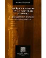 Política criminal en la sociedad moderna