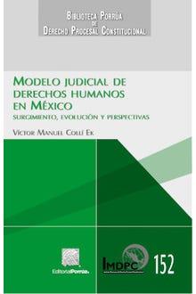 Modelo judicial de derechos humanos en México