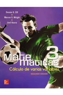 Matemáticas 3 : Cálculo de varias variable