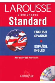 DICCIONARIO STANDARD LAROUSSE ENGLISH SPANISH ESPAÑOL