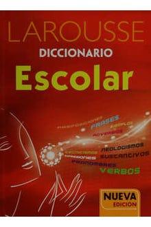 Larousse diccionario escolar