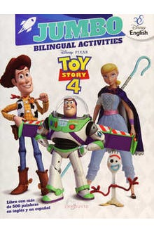 Jumbo Bilingual Activities Toy Story 4