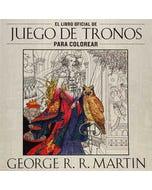 El libro oficial de Juego de Tronos para colorear