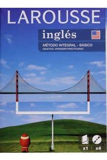 LAROUSSE INGLÉS MÉTODO INTEGRAL BÁSICO C/4 CDS