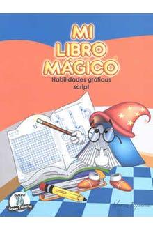 Mi Libro Mágico Habilidades Gráficas Script Preescolar