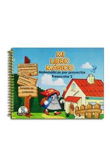 Mi Libro Mágico Matemáticas por Proyectos Preescolar 2