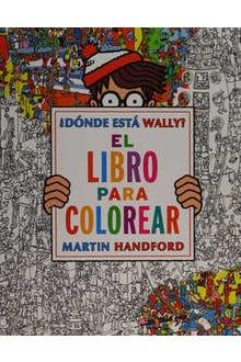 ¿Dónde está Wally? El libro para colorear